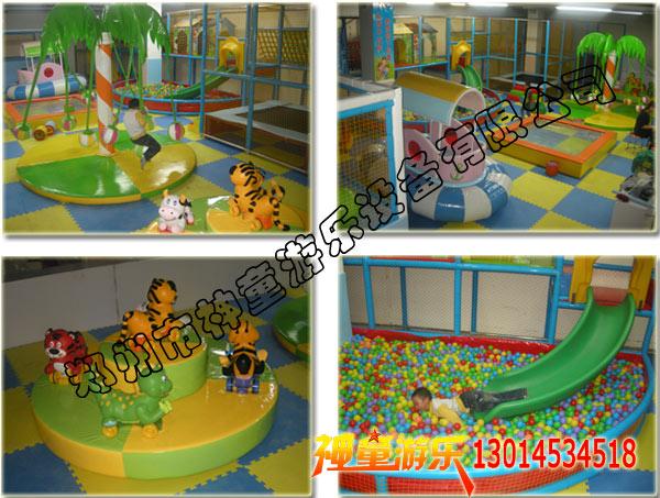 室内儿童淘气堡乐园