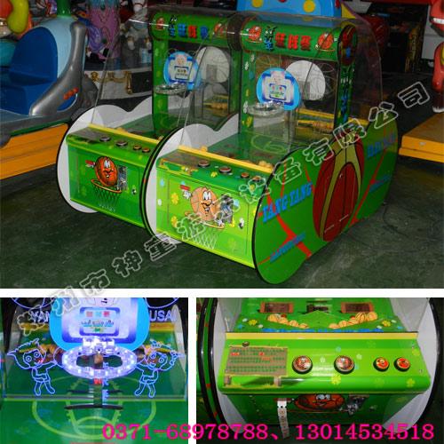 羊羊篮球赛儿童投币游戏机